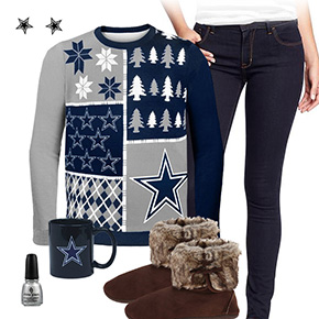 Dallas Cowboys Ugly Sweater Love