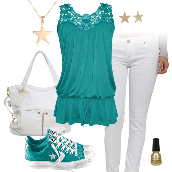Miami Dolphins Outfit With Converse