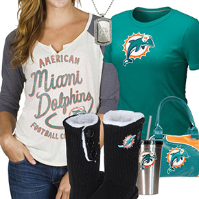 Miami Dolphins Fan Gear