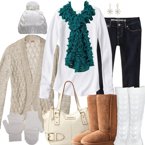 Miami Dolphins Inspired Winter Fashion