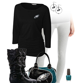 Philadelphia Eagles Leggings Love