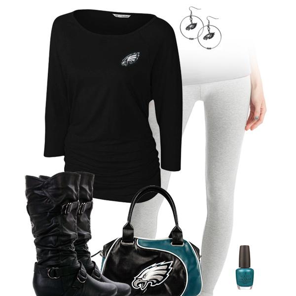 new style 0ca0d d79fe Philadelphia Eagles Leggings Outfit, Philadelphia Eagles ...