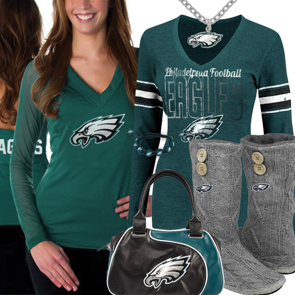 Cute Eagles Fan Gear