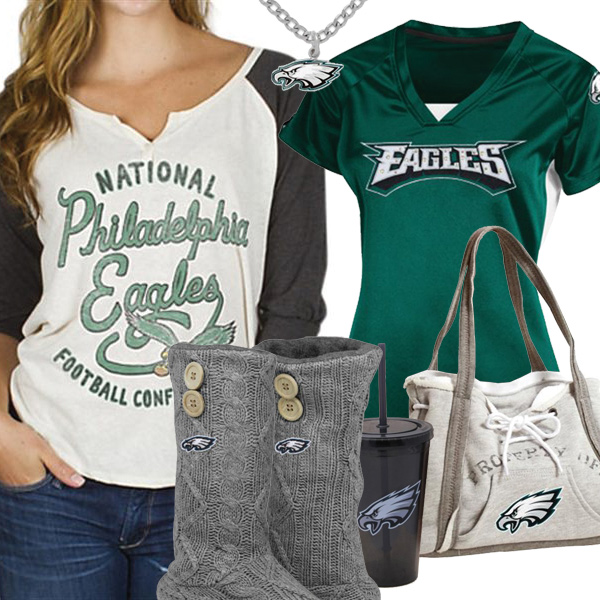 size 40 2ab40 04caa Philadelphia Eagles NFL Fan Gear, Philadelphia Eagles Female ...