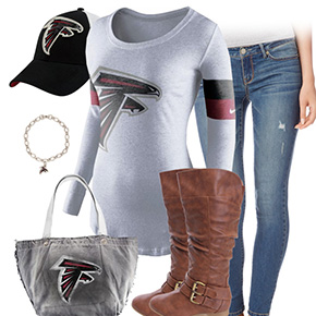 Atlanta Falcons Casual Cutie