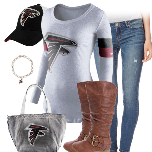 Atlanta Falcons Inspired Outfit