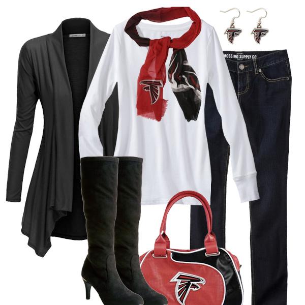 Atlanta Falcons Inspired Fall Fashion acd7e06dc