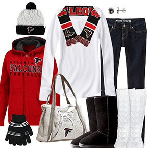 Atlanta Falcons Winter Wonder Fan