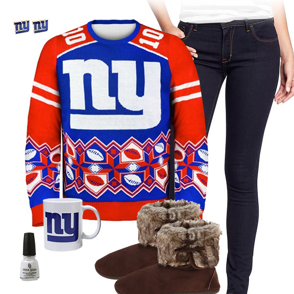 New York Giants Ugly Sweater, New York Giants Sweater, Giants Mug