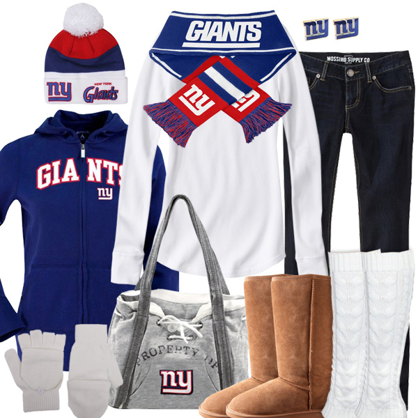 New York Giants Winter Fashion, Giants Beanie, Giants Hoodie