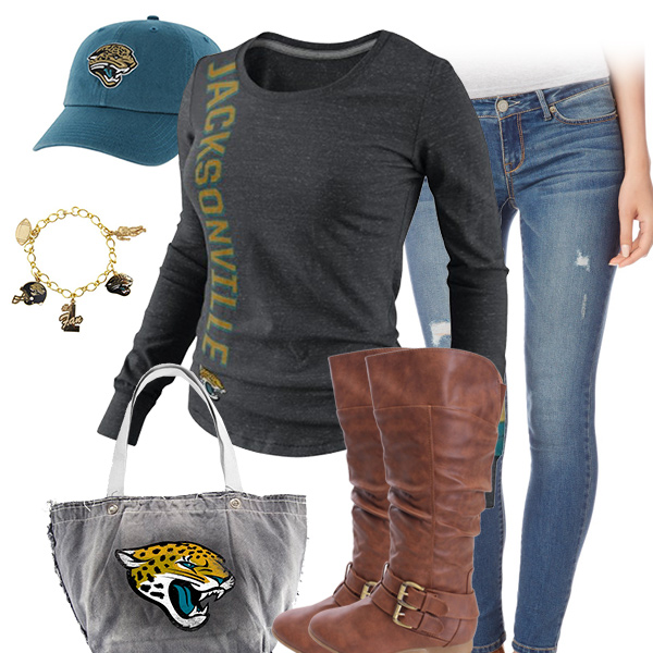 Jacksonville Jaguars Inspired Outfit
