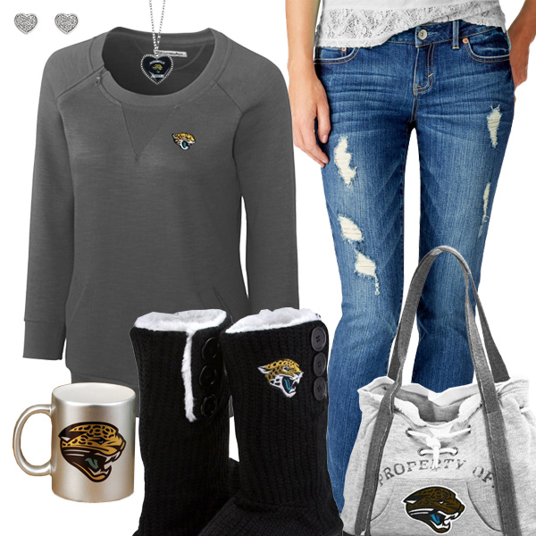 Cute Jaguars Fan Outfit
