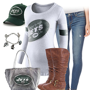 New York Jets Casual Cutie