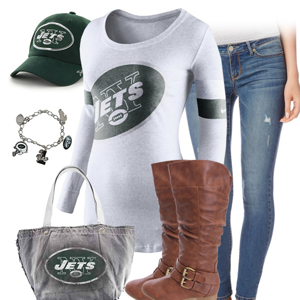 New York Jets Inspired Outfit