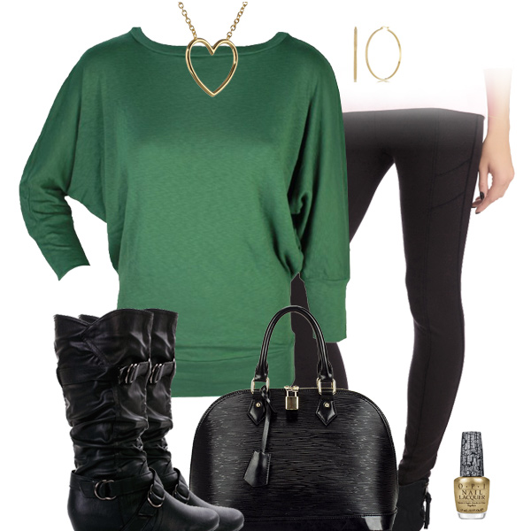 New York Jets Inspired Leggings Outfit