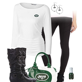 New York Jets Leggings Love