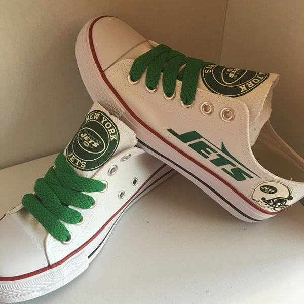 New York Jets Converse Sneakers