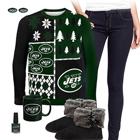 New York Jets Ugly Sweater Love