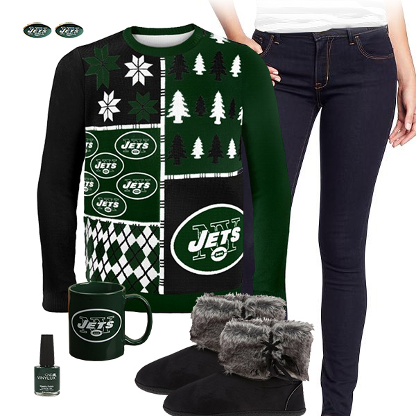 New York Jets Ugly Sweater, New York Jets Sweater, New York Jets Mug