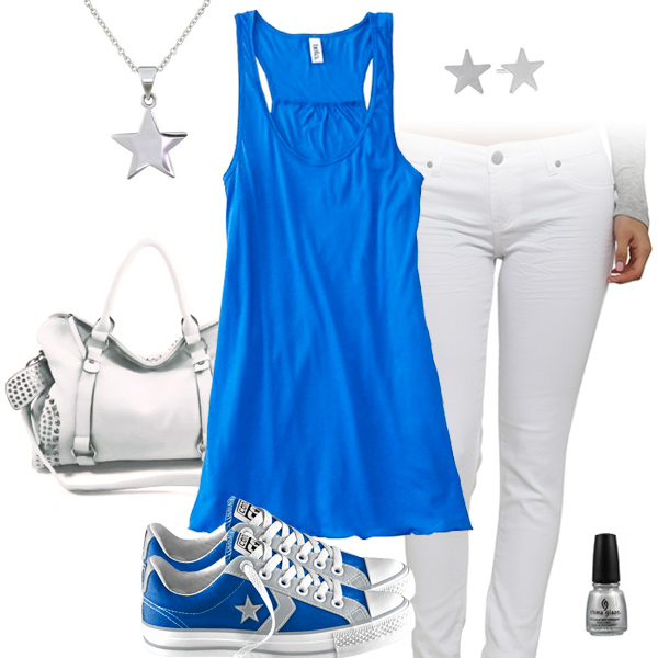 Detroit Lions Outfit With Converse
