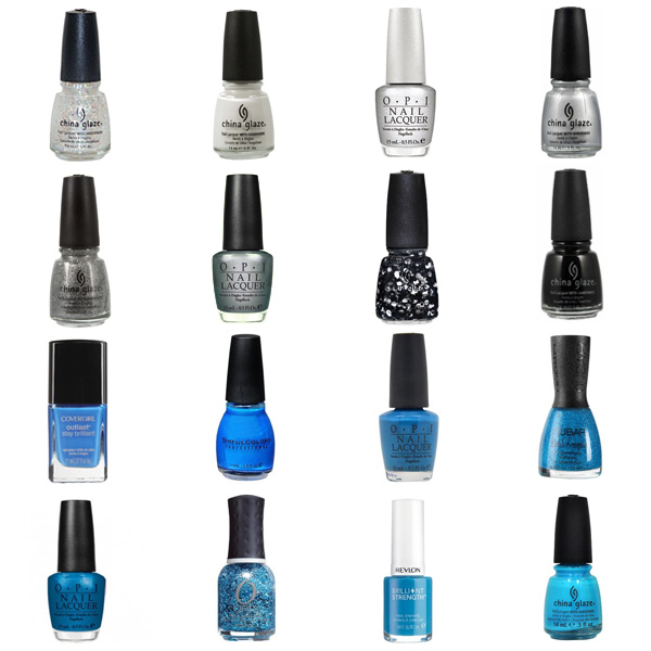 Detroit Lions Nail Polish Colors