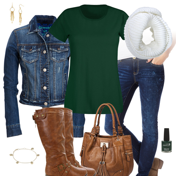 Jean Jacket Fall Outfit Inspiration