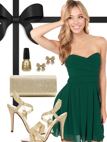 Green Bay Packers Inspired Dress
