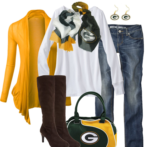 Green Bay Packers Inspired Fall Fashion