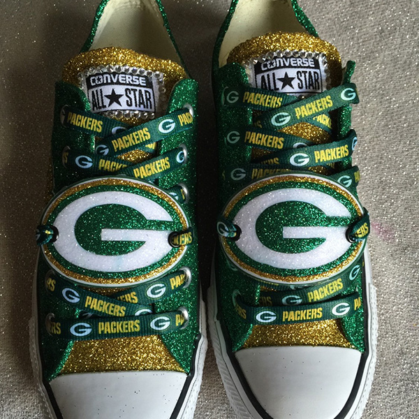 Green Bay Packers Converse Shoes