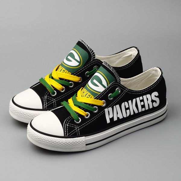 the latest 750c5 a52e1 Green Bay Packers Converse Sneakers