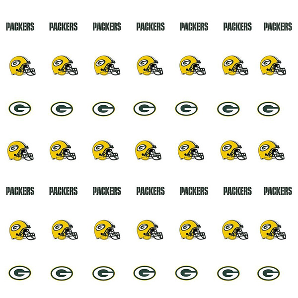 Green Bay Packers Nail Stickers