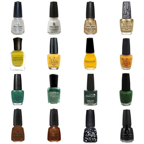 Green Bay Packers Nail Polish Colors