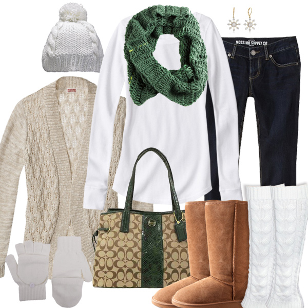 Green Bay Packers Inspired Winter Fashion