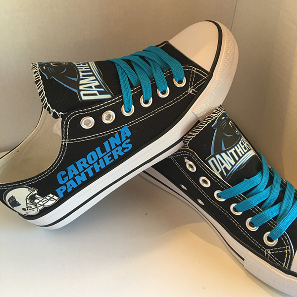 Carolina Panthers Converse Shoes