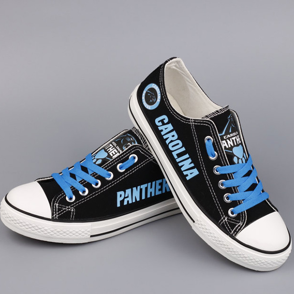 Carolina Panthers Converse Sneakers