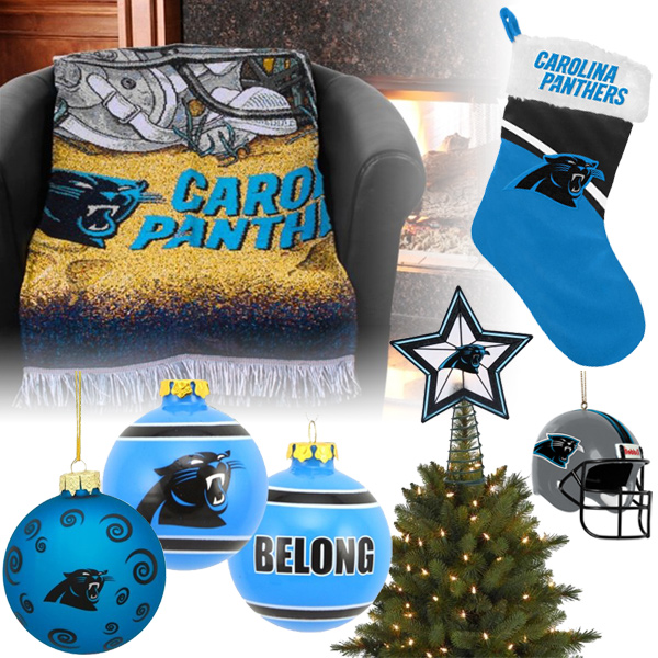 Carolina Panthers Christmas Ornaments b00ee7d1d