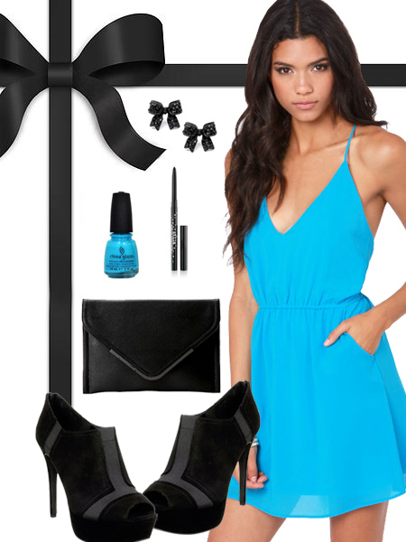 Carolina Panthers Inspired Dress