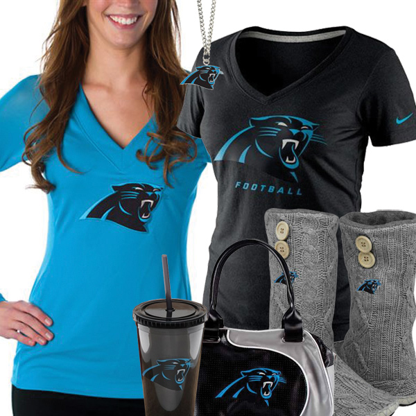 sports shoes 88021 86085 Carolina Panthers Fan Style Inspiration, Panthers Fashion ...