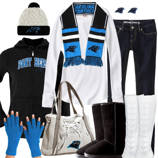 the latest 7ab26 1dfb6 Carolina Panthers Winter Fashion, Panthers Beanie, Panthers ...
