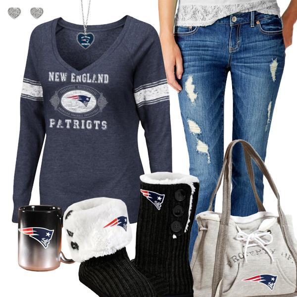 9c176845389 Cozy Sunday Patriots Outfit