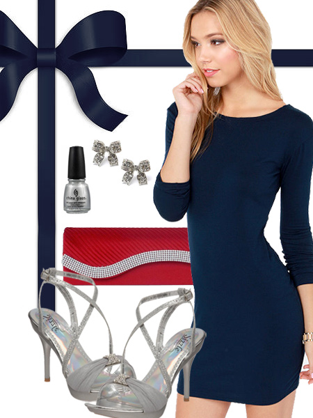 New England Patriots Inspired Dress
