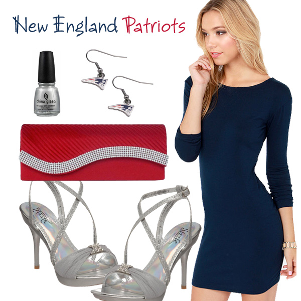 New England Patriots Inspired Date Look