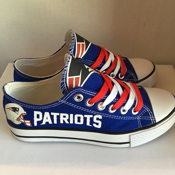 New England Patriots Converse Shoes