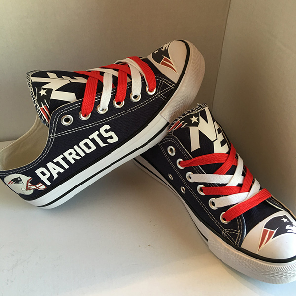 New England Patriots Converse Sneakers