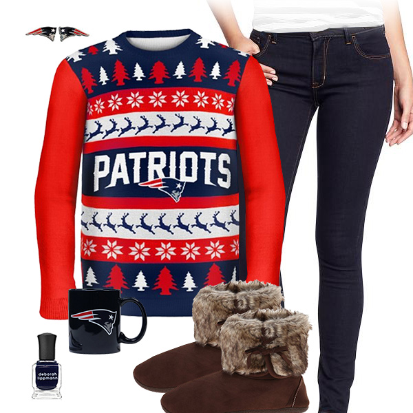 New England Patriots Sweater Outfit