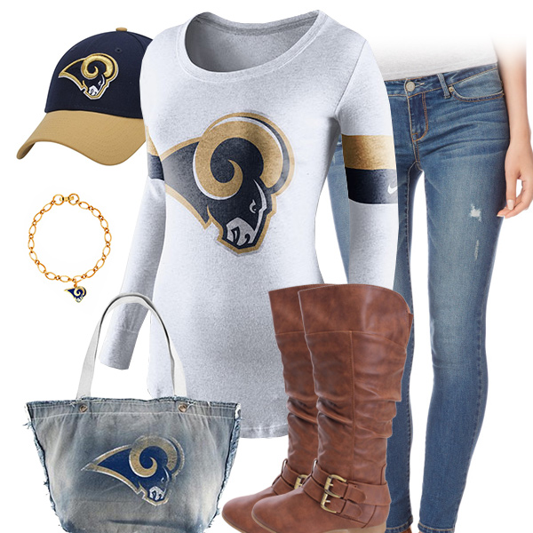 St. Louis Rams Inspired Outfit