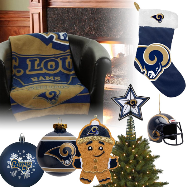 Shop the items… - St. Louis Rams Christmas Ornaments, St. Louis Rams Christmas Stocking
