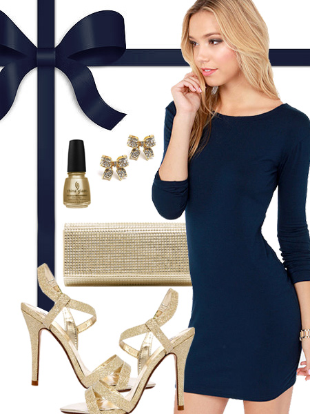 St. Louis Rams Inspired Dress