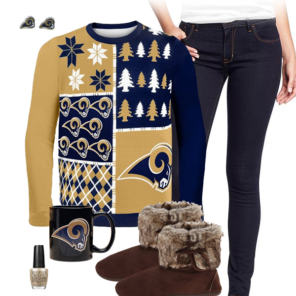 St. Louis Rams Sweater Outfit