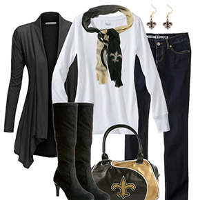 New Orleans Saints Fall Fashionista
